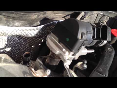 2008 MB E320 EGR valve removal pt. 1