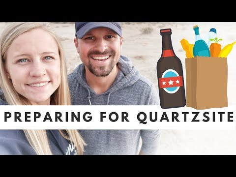 PREPARING for QUARTZSITE 🚐🇺🇸 Tips for Boondocking in Quartzsite, Arizona 😍 RV Living Full Time