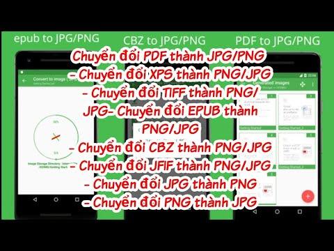 Chuyển Đổi Tài Liệu Đuôi PDF Sang JPG/PNG(PDF on JPG/PNG) Trên android