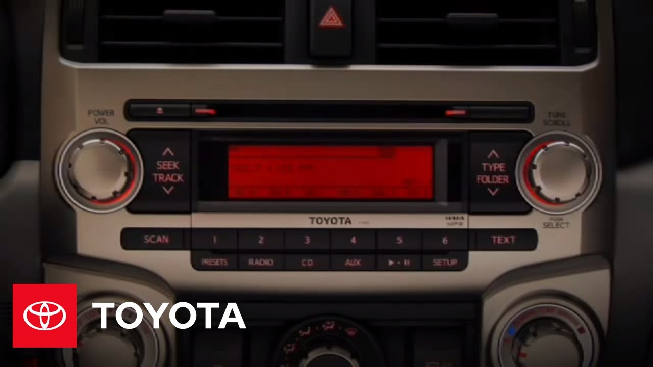 2010 4Runner How-To: Audio System | Toyota