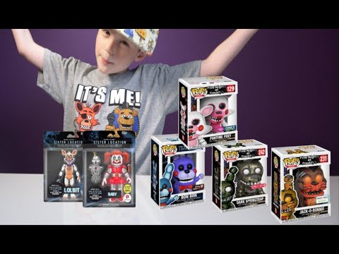 FNAF Wave 3.5 Funko Fall release | Lolbit Action Figure and MORE !