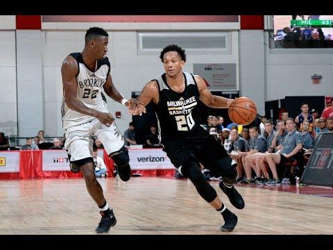 Full Highlights: Milwaukee Bucks vs Brooklyn Nets, MGM Resorts NBA Summer League | July 9
