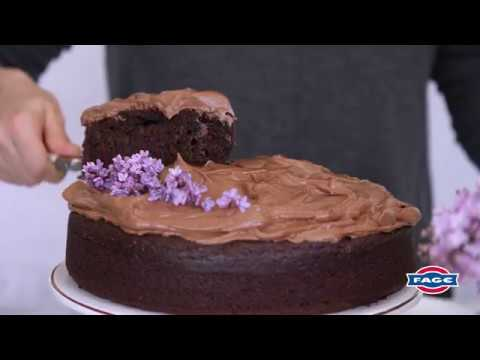Double Chocolate Greek Yogurt Cake Recipe