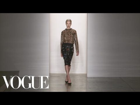 Peter Som Ready to Wear Fall 2013 Vogue Fashion Week Runway Show