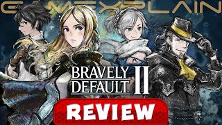 Bravely Default II - REVIEW (Nintendo Switch) (Video Game Video Review)