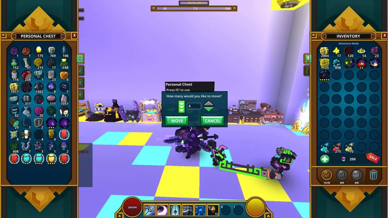 trove how to get class gem key fragment