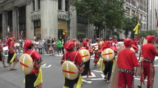 Philippine Independence Day Parade~2017~NYC~Barangay Gingoognon Dancers~NYCParadelife