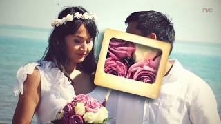 Слайд шоу из фотографий на свадьбу. After effect.
