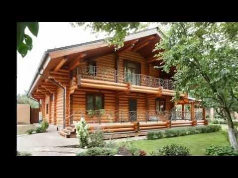 Дизайн интерьера бревенчатого дома 360 кв. м ( Деревянный дом с бруса )