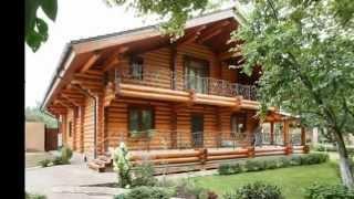 Дизайн интерьера бревенчатого дома 360 кв. м ( Деревянный дом с бруса )(, 2015-02-17T19:28:37.000Z)