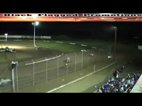 Canyon Speedway Park- Challenge Cup Sprint Car Main Nov 15th 2014