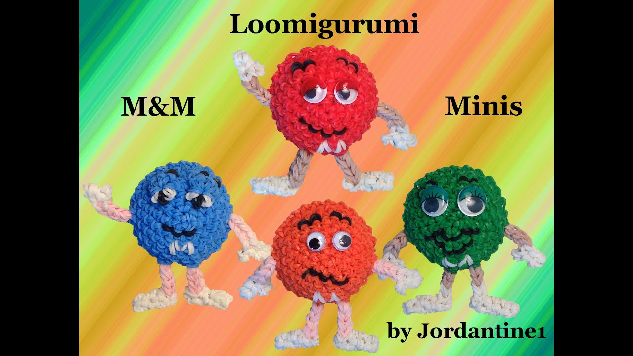 New Loomigurumi Amigurumi M Amp M Mini Rubber Band Crochet