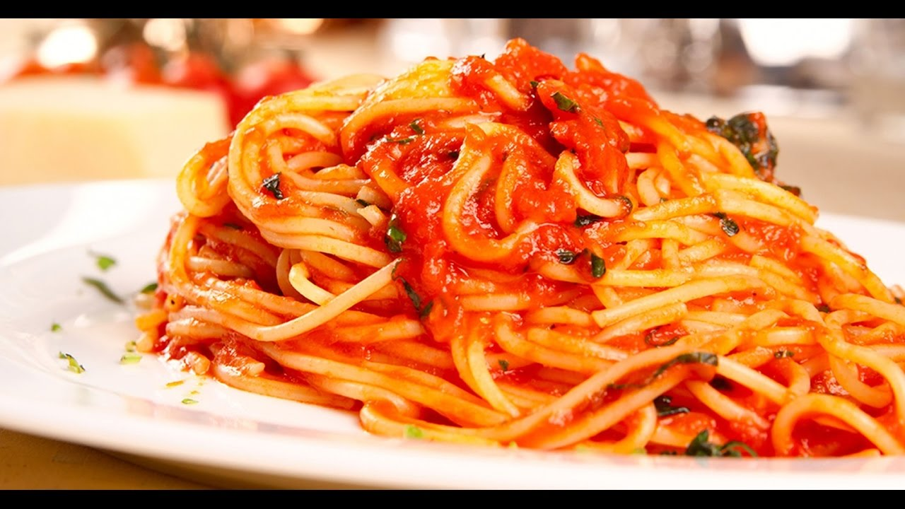 Image Result For Receta Spaghetti Rojo