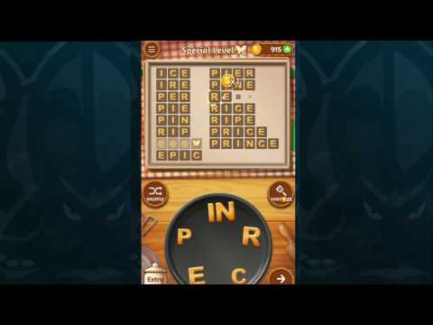 Word Cookies Walkthrough PEACH Level 5 SPECIAL LEVEL Solved