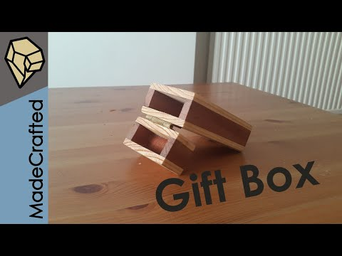 How To Make A Wooden Gift Box