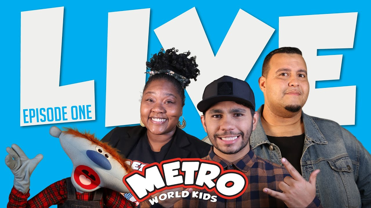 MWK LIVE, EPISODE ONE – OCTOBER 23rd | METRO WORLD KIDS