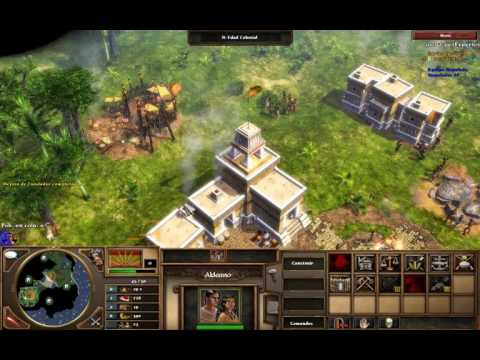 Age of Empires III / Aztec-France (Expert)