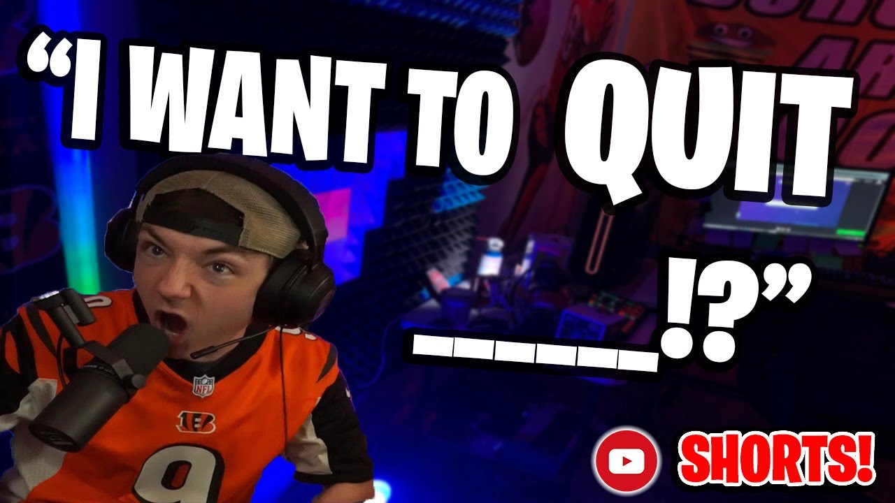 Streamer Life: Working a job vs streaming full time... (My Journey: PART 4) #SHORTS