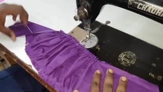 Puff Sleeves (Baju) cutting and stitching