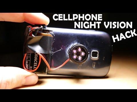 Amazing Night Vision Phone Hack! - $5 Spy Gadget!!!
