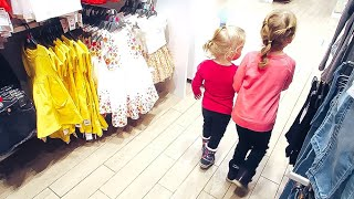 vlog Шоппинг. Весенняя одежда для девочек - Senya Miro