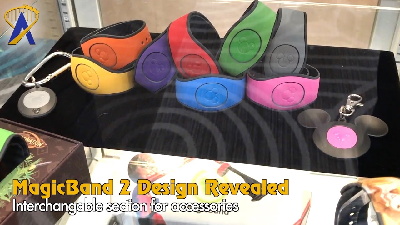 MagicBand 2 design and accessories coming soon to Walt ...