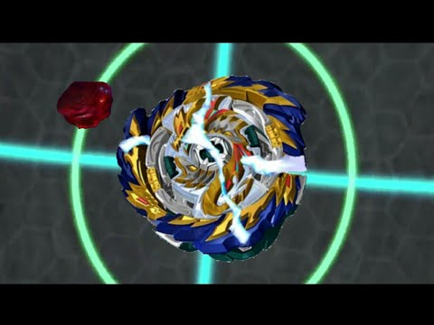 Beyblade Burst Sparking Super King Episode 26 - Mirage Fafnir Destroy