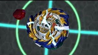 Beyblade Burst Sparking Super King Episode 44 - Mirage Fafnir Destroy
