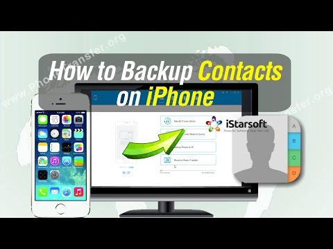 How to Backup Contacts on iPhone 8/7 Plus/7/6S/6/5S/5C/5/SE