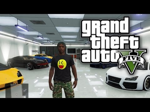 GTA 5 Online - CHANGING UP THE GARAGE GAME! (GTA V Online)