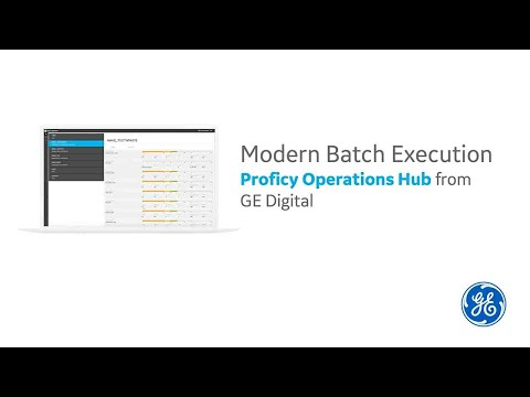 Operations Hub and Batch Execution