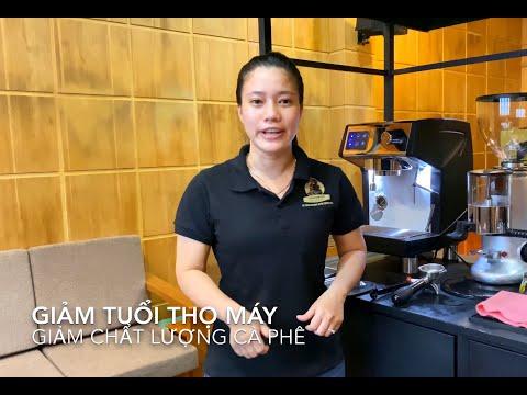 Hướng dẫn cách vệ sinh máy pha cà phê | Lyon Coffee 18009450