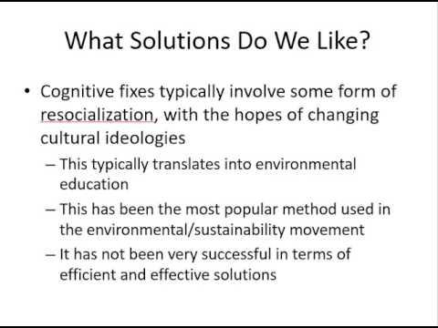 Creating Sustainability