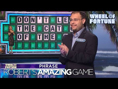 Adam Rivers - WOW: This dude has the best game in Wheel of Fortune history
