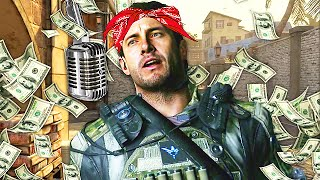 Amazing FAST RAPPER 'Raps The Map' on Call of Duty! (Insane Rapping)