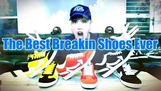 BBoy Dyzee promuje nowe buty zaprojektowane dla BBoys & Bgirls