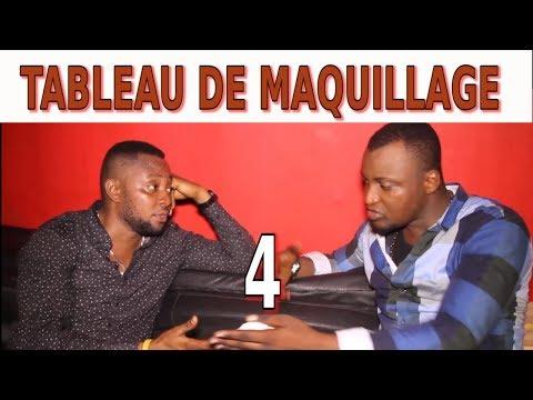TABLEAU DE MAQUILLAGE Ep 4 Theatre Congolais avec Ada,Buyibuyi,Vue de Loin,Moseka,Barcelon