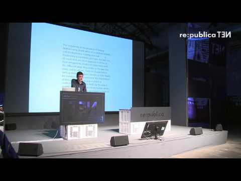 re:publica 2016 – Geoffroy de Lagasnerie: The art of revolt. Snowden, Assange, Manning on YouTube