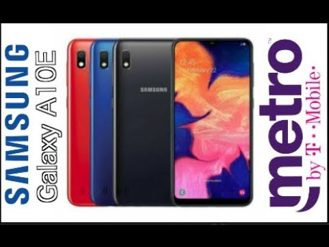 Samsung Galaxy A10E New For Metro By T-mobile
