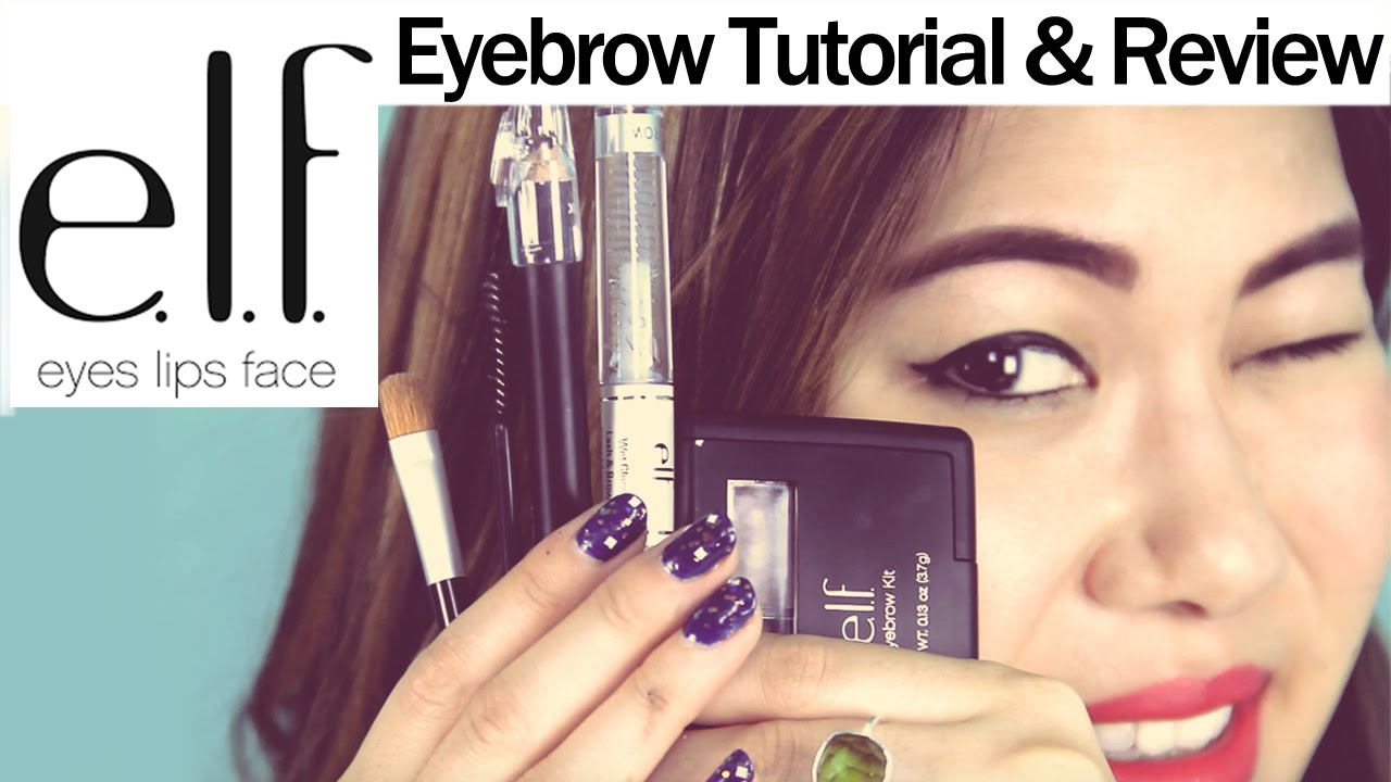 Elf Eyebrow Kit Review How I Fill In My Eyebrows Tutorial
