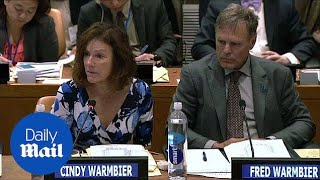 Otto Warmbier's parents speak at UN about North Korea - Daily Mail