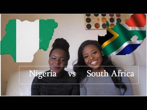 Nigeria vs South Africa: Language Challenge
