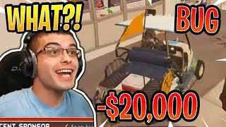 Nick Eh 30 Lost $20,000 Because of a Terrain Kart Bug! - Fortnite Best and Funny Moments
