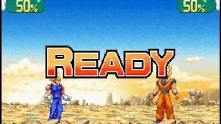 Dragon Ball Z - Supersonic Warriors - Dragon Ball Z Supersonic Warriors - Starting Off Vegeta