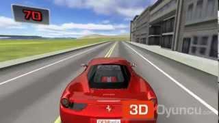 3D Ferrari F458 - 3D Araba Oyunları - 3D Oyuncu