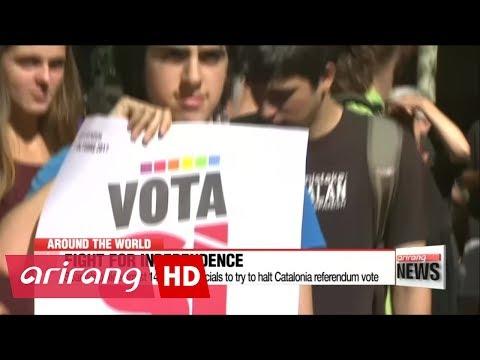 Spain tries to halt Catalonia referendum vote