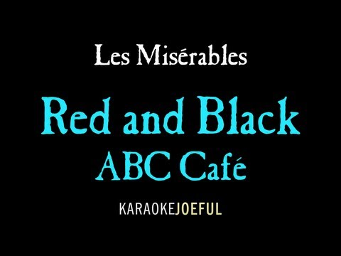 Red And Black (ABC Cafe) Les Miserables Authentic Orchestral Karaoke Instrumental