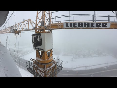 Башенный Кран  Liebherr 154. Tower Crane.