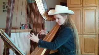 Tumbling Tumbleweeds on the harp