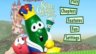 VeggieTales-King George and the Ducky  Menus